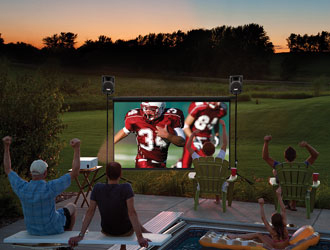 Outdoor Movies | The Game Truck | Birthday Party Ideas