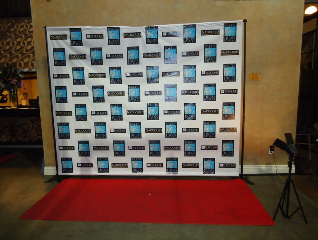 8u0027 x 10u0027 custom banner u0026 stand rental package